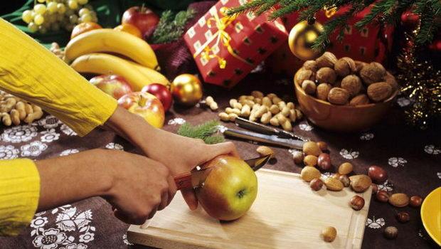 rozříznutí jablka