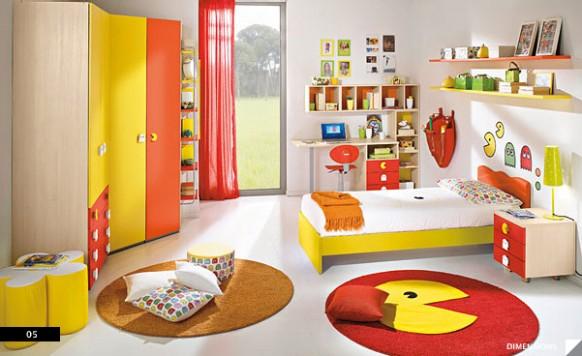 dětský pokoj Pac Man