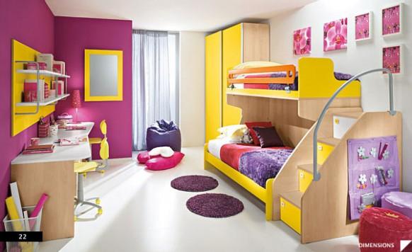 dětský pokoj růžový