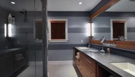 Elegantní pruhy do koupelny