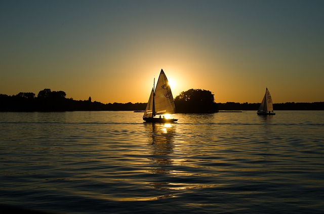 romantická dovolená na lodi